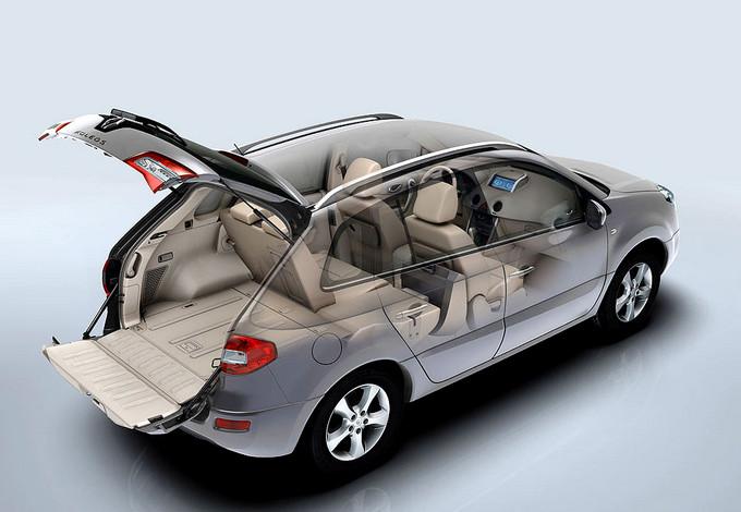Renault Koleos в разрезе
