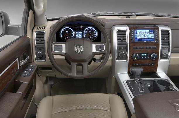 Dodge Ram изнутри