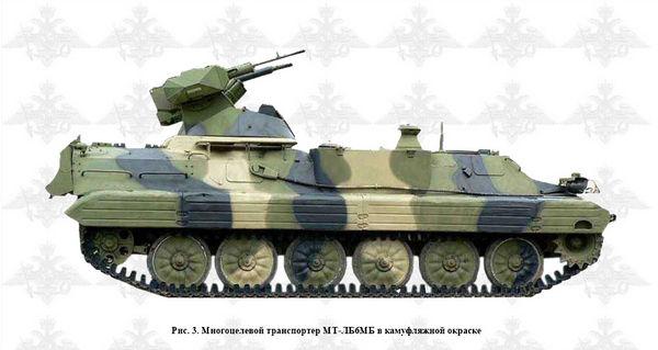Армейский МТЛБ