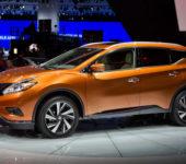 Nissan Murano 2015 третьего поколения