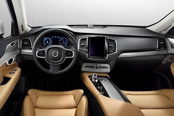 Салон автомобиля Volvo XC90