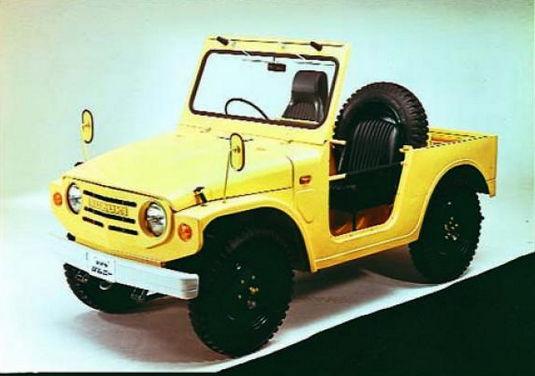 Suzuki Jimni 1968 года выпуска