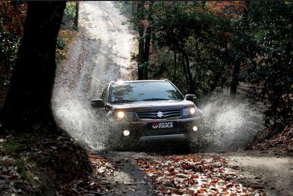 Suzuki Гранд Витара на бездорожье