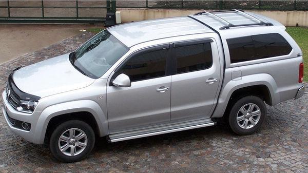 Пикап Volkswagen-Amarok сверху