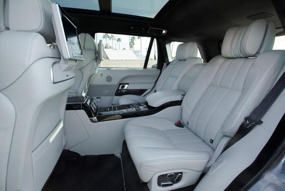 Салон внедорожника Range Rover LWB
