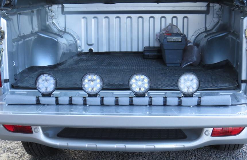 Свет на багажнике пикапа