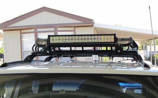 Балка со светодиодами на рейлингах