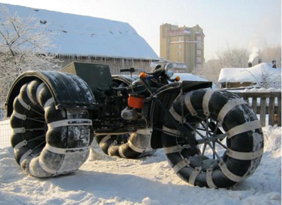 Изготовление вездехода на шинах низкого давления