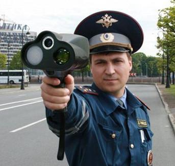 Полицейский с антирадаром