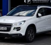 Белый Peugeot 4008