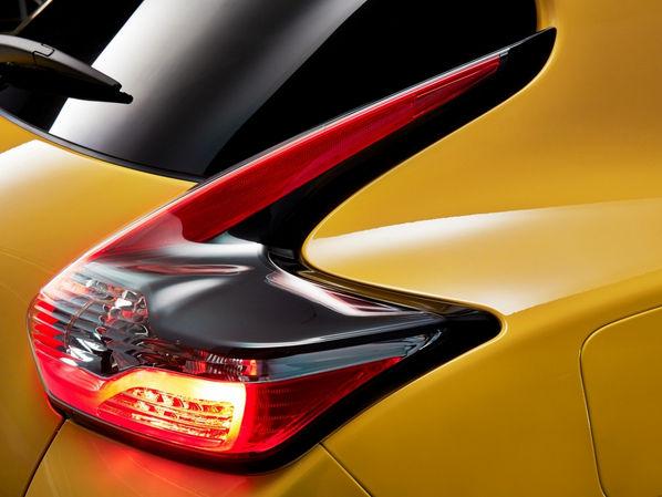 Фрагмент Nissan Juke задняя фара правая