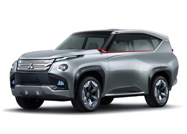 Концепт-кар Mitsubishi Pajero 2015