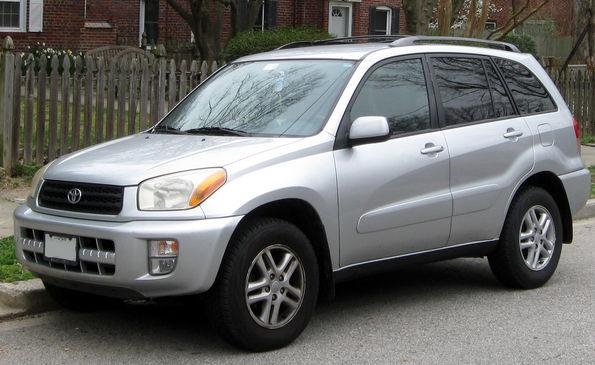 Тойота Рав 4 2003 года