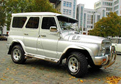 Тюннингованный до неузнаваемости 469 УАЗ