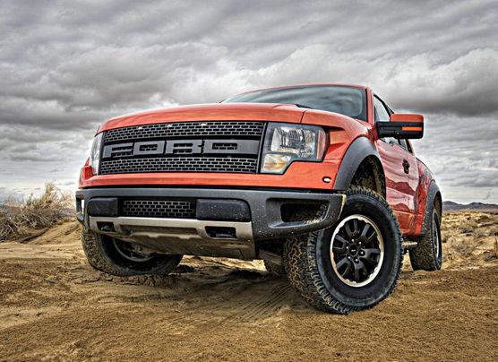Красный Внедорожник Форд