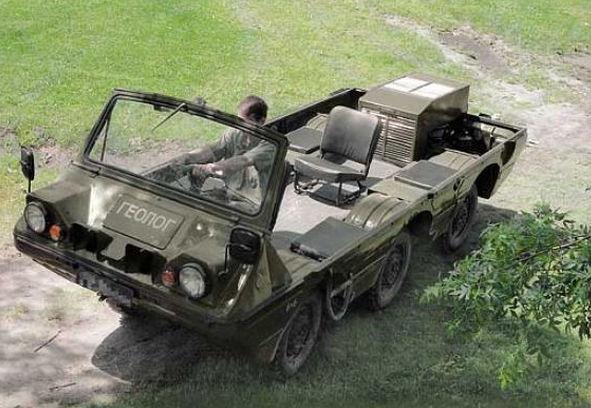 ЛуАЗ-13019 Геолог