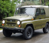 УАЗ-3151 знаменитый командирский УАЗик