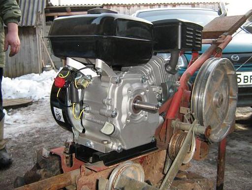 Двигатель от мотоблока Луч