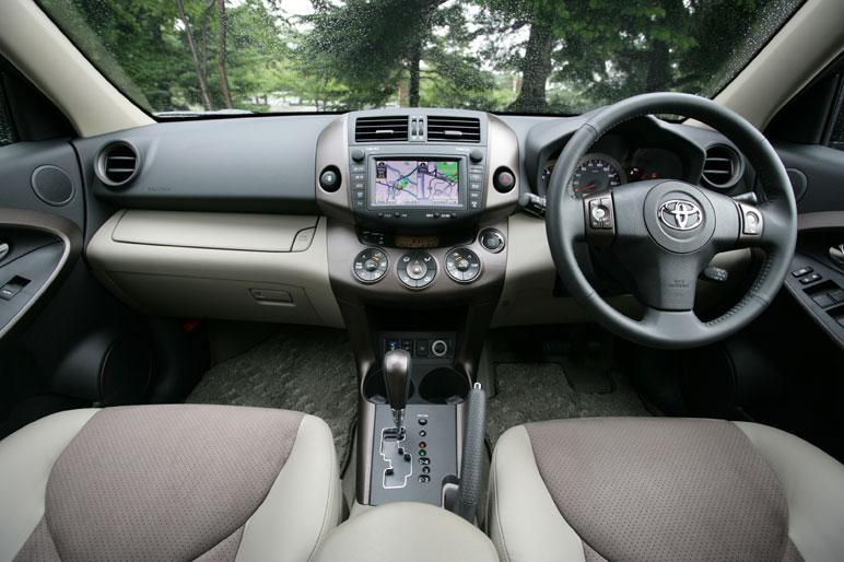 Салон Toyota Vanguard 350S