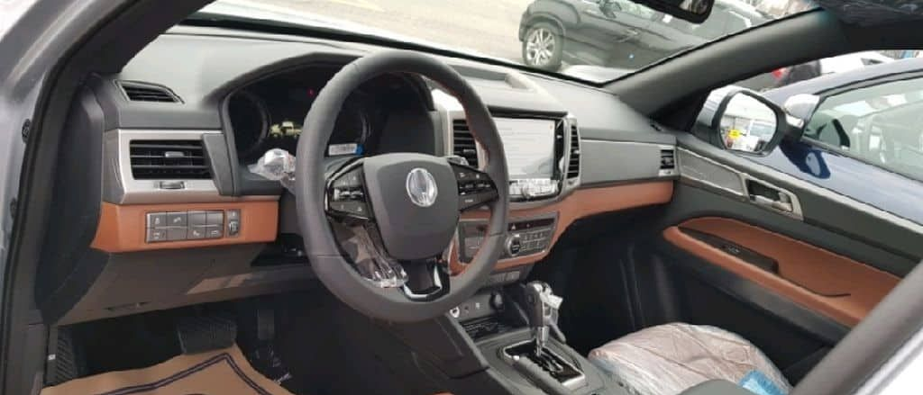 Салон SsangYong Musso 2018